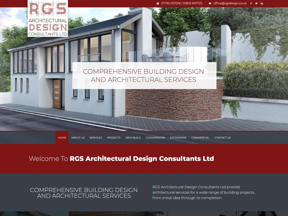 The RGS website created by it'seeze Exeter